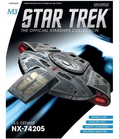 Miniatura Star Trek M3 Iss Defiant Eaglemoss - Bonellihq L19