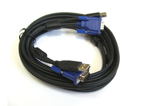 Kit 3 Cabo P/ Switch Kvm D-link Dkvm-cu