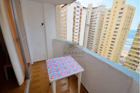 Apartamento A Venda Guarujá Pitangueiras, 2 Dormitórios Com Vaga No Prédio. - Ap0965
