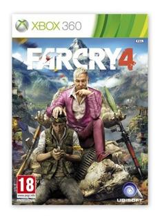 Far Cry 4 Juego Xbox 360 Original Digital + Oferta