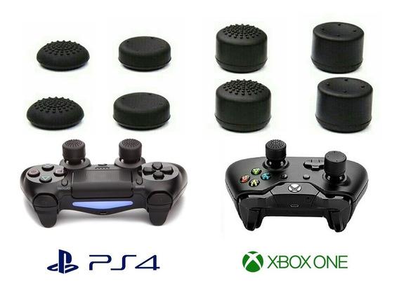 Grips Kontrol Freek Ps3 Ps4 Xbox One 360 - Kit 8 Peças