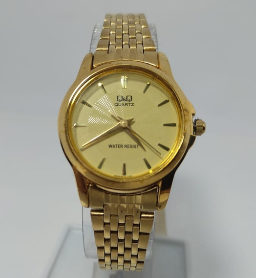 Relógio Q&q By Citizen Dourado Q423j010y