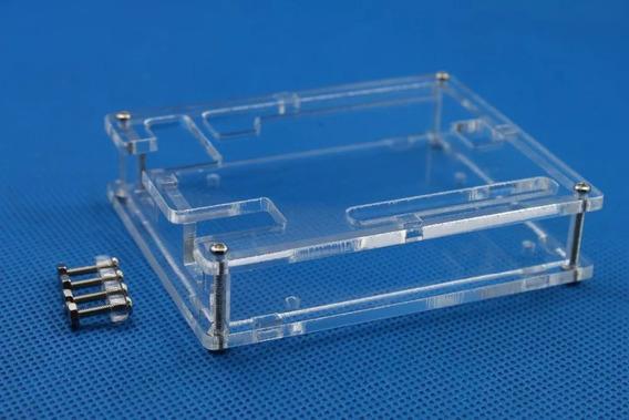 Case Arduino Uno R3 Caixa Acrílico Transparente
