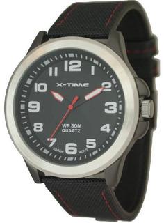Reloj Hombre Caucho Varios Colores X-time Xt015