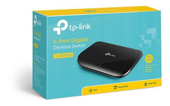 Switch De 5 Puertos Tp Link Tl-sg1005d