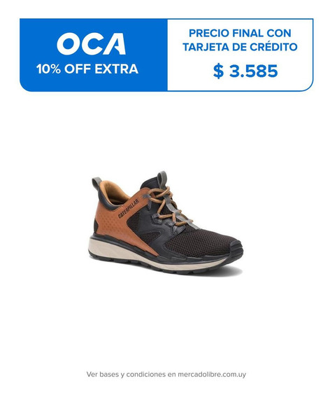 Hombre Caterpillar Abridge Black Urban Active
