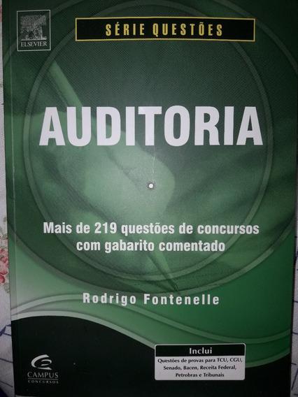 Auditoria - Série Questões/rodrigo Fontenelle