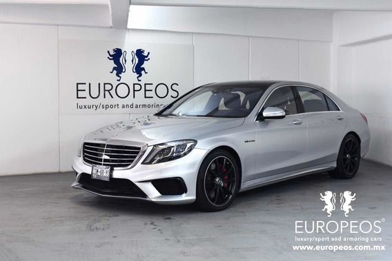 Mercedes-benz Clase S 5.5l Coupe 63 Amg 4matic Mt 2015