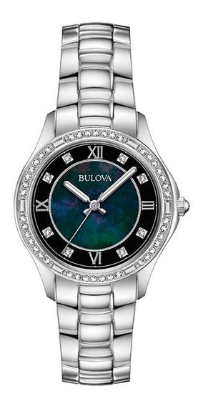 Relógio Bulova Feminino Crystal Turnstyle 96l266