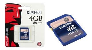 Cartão De Memoria Para Câmera Digita Sdc4/4gb-kingston