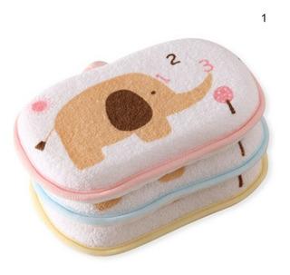 Paquete 3 Esponjitas Para Bebé D Algodon Obsequio Recuerdo