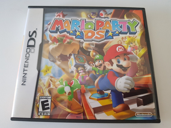 Mario Party Completo Do Ds Original Americana