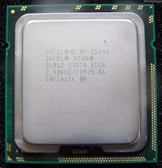 Xeon Six Core E5645 12m 2.40ghz Lga1366