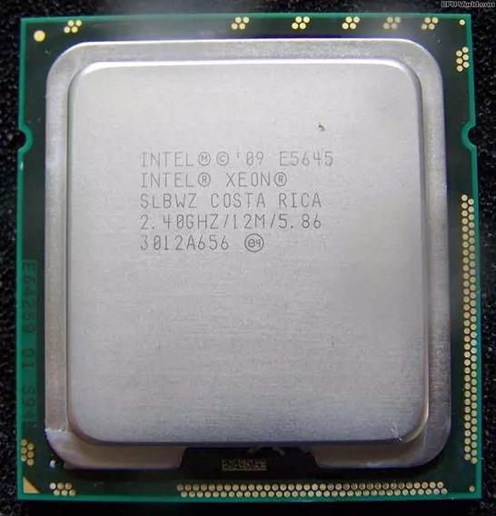 Xeon Six Core E5645 12m 2.40ghz Lga1366