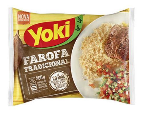 Farofa Yoki Tradicional Brasil Sin Gluten - Tapioca Melitta.