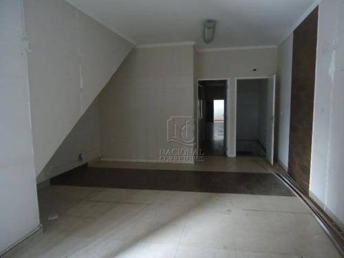 Salão Para Alugar, 320 M² Por R$ 5.000,00/mês - Vila Curuçá - Santo André/sp - Sl0409