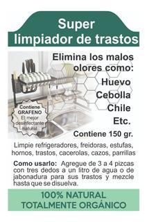 Super Limpiador - Trastos Estufa Horno Refrigerador - 150 Gr