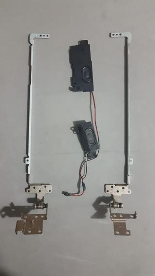Dobradiças+ Alto Falantes (speaker) Asus Modelo: A43e-vx774