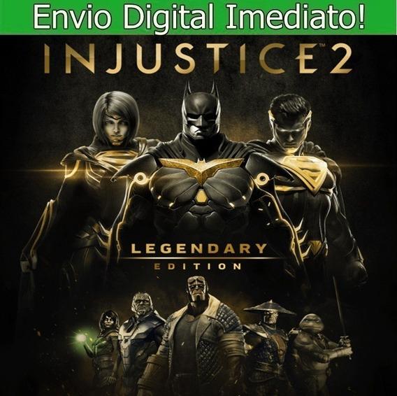 Injustice 2 Pc Hd Envio Imediato.