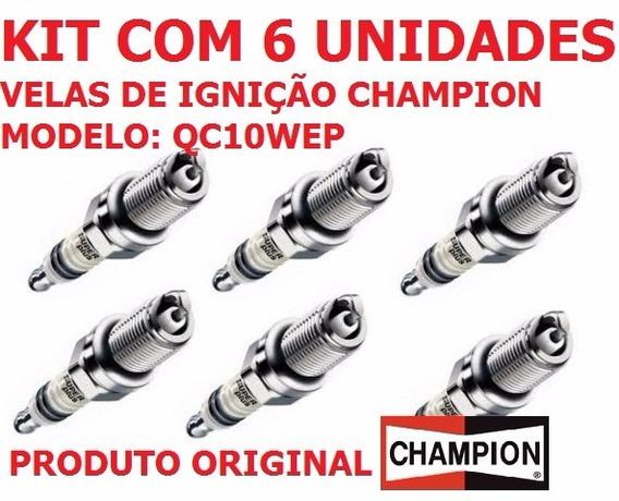 Vela Champion Iridium Qc10wep Motor Evinrude E-tec 75 90 6un