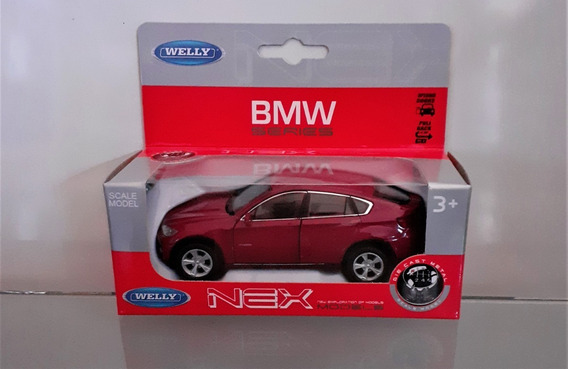 Bmw X6 Miniatura Welly