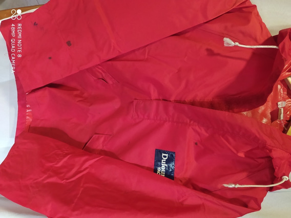 Traje Lluvia 2 Piezas Hombre Moto Rojo T 3 Dufour Yachting
