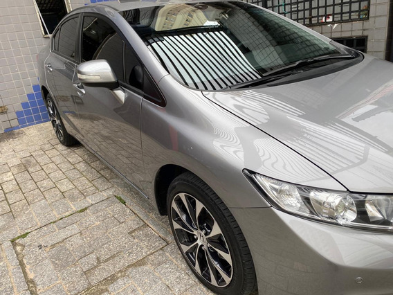 Honda Civic 2.0 16v Flexone Lxr 4p Cvt Super Conservado