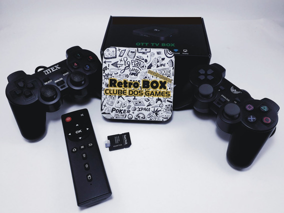 Video Game Retro Box Com Jogos Clássicos 64gb Super Barato