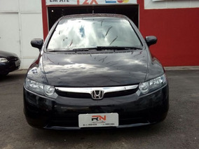 Honda Civic Sedan Lxs1.8 Flex 16v Mec 2008 Preto