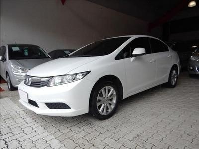 Honda Civic Lxs 1.8 Branco 16v Flex 4p Aut. 2014