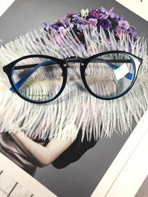 Armação Oculos Grau Masculino Importado Df38 Acetato Redondo