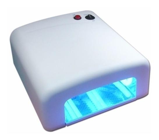 Lampara Uv Yaxun 4 Bombillos Tactil Micas Uñas Mayor Y Detal