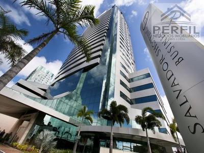 Sala Comercial Para Locação Em Salvador, Caminho Das Arvores, 1 Dormitório, 1 Banheiro, 1 Vaga - 717