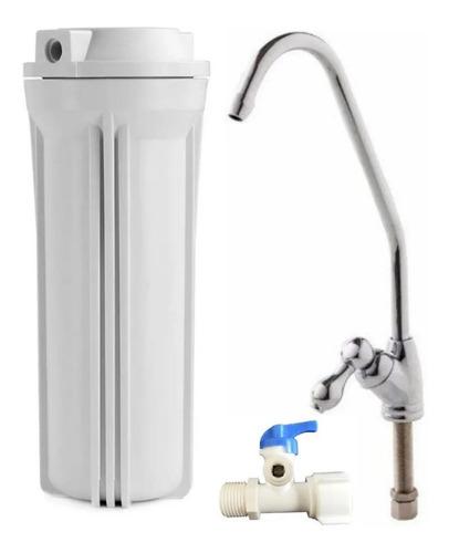 Filtro De Agua Bajo Mesada Elimina Mas De 100 Sustancias