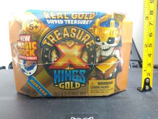 Paq 2pzas Treasure X Hunters S3 Cazadores Tesoro Reyes Oro