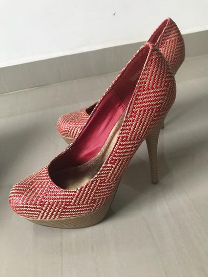 Zapatos De Dama Tacon Alto