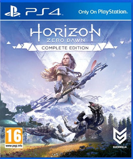Horizon Zero Dawn Complete Edition Ps4 Fisico - Audiojuegos
