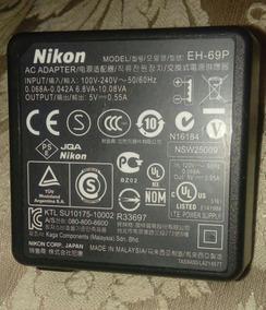 Carregador Original Nikon Modelo Eh-69p 5v-0.55a