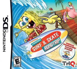 Spongebob Surf Skate Roadtrip Nintendo Ds