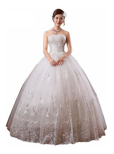 Vestido De Debutante Casamento Diamante Noiva Brinde Armação