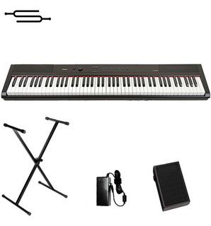 Piano Teclado 88 Teclas Artesia Sensitivo + Soporte + Cuotas