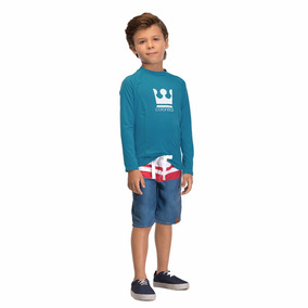 Camiseta Infantil Masculino Supreme Proteção Premium Uv 50