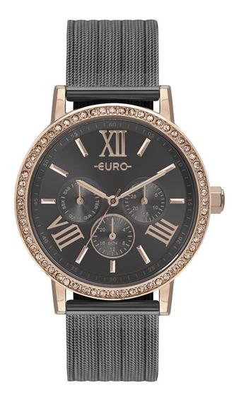 Relógio Feminino Euro Analógico Rosê Eu6p29ahk/5f