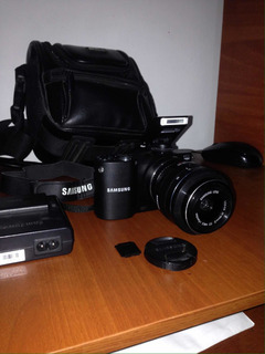 Camara Samsung Nx 1000 20.3 Mpx Wifi Full Hd