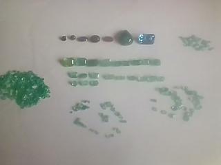 Esmeraldas, Zafiros Azul Y Rubí En Remate El Lote