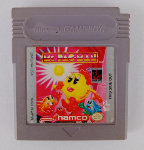 Ms. Pac-man Original Gameboy Color Gba Gbc Game Boy Frete$12