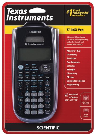 Texas Instruments Ti-36x Pro Calculadora Científica