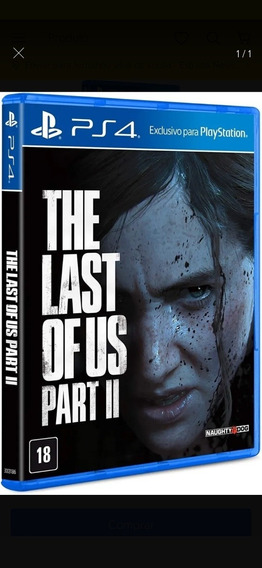 The Last Of Us Part Ii 2 Ps4 - Português - Envio Agora
