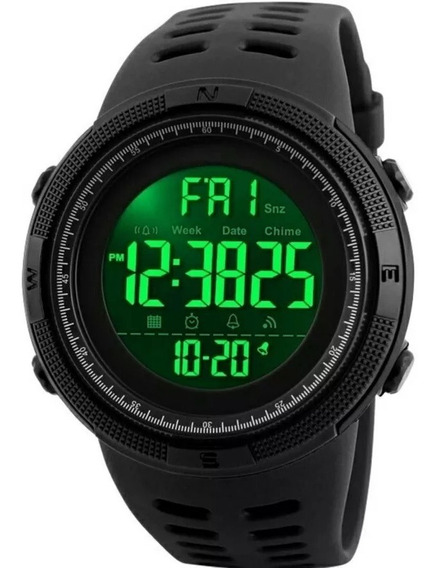 Relógio Masculino Esportivo Digital Prova D Agua Skmei 1251