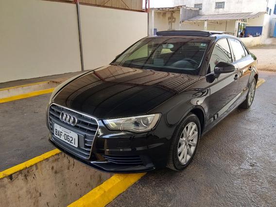 Audi A3 1.4 Turbo Tsfi Conversível, Banco De Couro